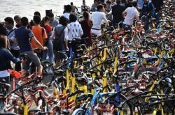 共享单车挤爆深圳湾!谁来拯救单车泛滥?