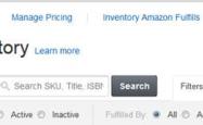 FBA管理库存页面中的Failed listing怎么删除?