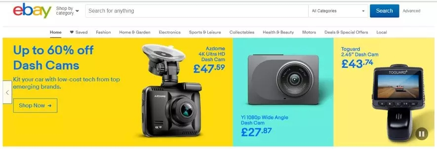 中国品牌登陆eBay英国首页,销量暴涨17倍